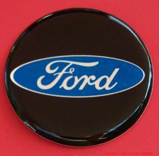 Blue Ford Wheel Rims Emblems Decals Model T B A Truck Mustang Van