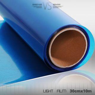 BMW 12 x 394 Dark Blue Tint Vinyl Film Wrap All Lights