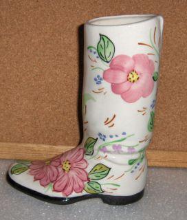 Blue Ridge Pottery Gladys Boot Vase 111610