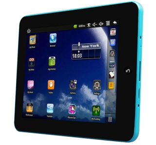 """New Mid 806 Google Android 8"""" Tablet PC 2GB w Bundle Case Blue Color"""
