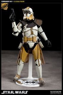 EXCLUSIVE 1 out of 500 made COMMANDER BLY Star Wars 1/6 Figure 12 MIB
