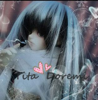 DAL Pullip BJD SD LUTS Blyth Doll Long Blue Black Snow Hair