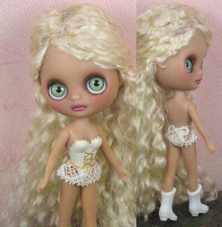Liat   OOAK custom Blythe mohair dressed doll repaint petite by Ellen