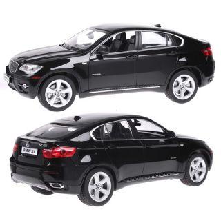 Rastar 1 14 BMW x6 Car Model with Remote Control Black Toys Games