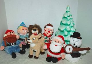 CVS Rudolph Island of Misfit Toys 1998 Lot of 7 Christmas Plush