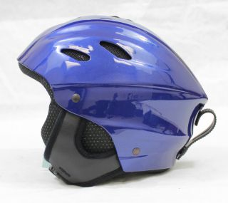 New Allpro Ski Snowboard Winter Sports Helmet Blue s 53cm