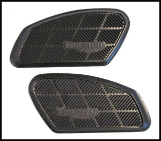 Triumph Bonneville Tiger 500 650 Twins Knee Pad Set PN 82 8192 82 8193