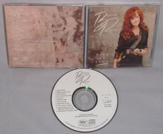 cd bonnie raitt nick of time mint original usa format cd artist bonnie