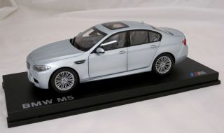 BMW 5 Series F10 M5 Silverstone 1 18th Factory Boxed