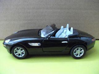 BMW Z8 Convertible 5 Black Diecast Mini Cars Toys