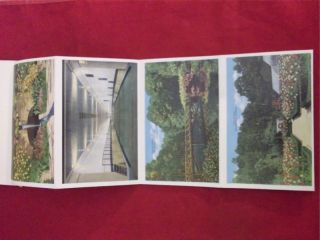 Souvenir of Mobile Alabama City of Six Flags Folder