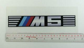 BMW M5 Motorsport E60 E39 E34 E28 Sticker Decal