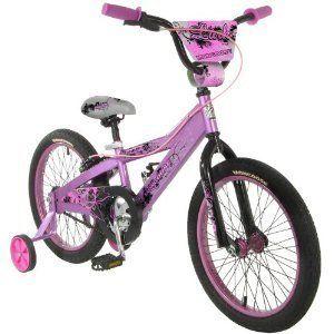 BMX Kids Bike Bicycle Mongoose Lark Girls 18 Wheels