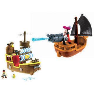 Neverland Pirate SHIP Bundle Hooks Battle Boat Bucky Musical