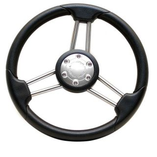ProCraft 14 inch Boat Steering Wheel w Hub