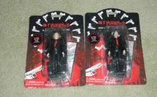 MY CHEMICAL ROMANCE MCR Rock Action Heroes Figures Ray Toro Bob Bryar