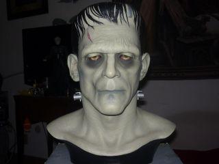 Boris Karloff Frankenstein Bust