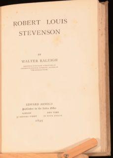 1895 Robert Louis Stevenson by Sir Walter Raleigh Biography First