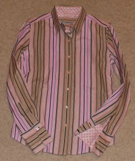 Robert Graham Womens Dress Shirt Size 4 Fitted Excellent