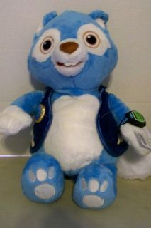DISNEY SPECIAL AGENT OSO WOLFIE PLUSH NEW WITH TAGS 14 INCHES