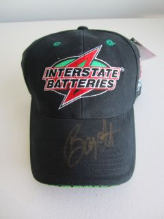 BOBBY LABONTE NASCAR AUTHENTICS INTERSTATE BATTERIES AUTOGRAPH BALL