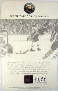 Bobby Orr Autographed Boston Bruins Black CCM Jersey GNR