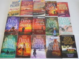 Nice Lot of 75 Diana Palmer Western Romance Paperback Books Long Tall