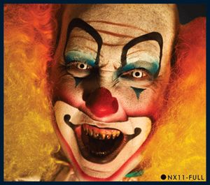 European Body Art Nixs Collection Evil Clown Halloween Airbrush Face