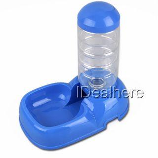 Dog Cat Pet Drinking Water Bottle Dish Bowl Dispenser