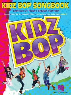 Kidz Bop Songbook Piano Sheet Music Guitar Chords Lyrics Children