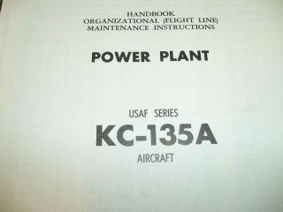 J57 Engine in Boeing KC 135A Stratotanker Service Manual
