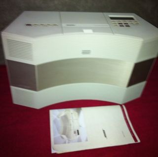 The Bose Acoustic Wave Music System Machine Series III CD 3000