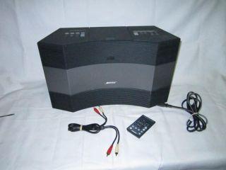 Bose Acoustic Wave Radio Music System II Alarm Radio CD Player