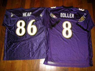 Reebok BALTIMORE RAVENS Heap Boller XL Football NFL Jersey vintage