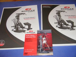Bowflex Ultimate 2 Instructional DVD with Assembly Manual Owners