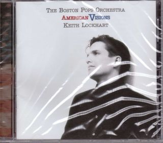 CD Boston Pops Orchestra Keith Lockhart American Visions New