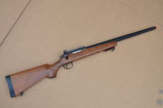 well bolt action airsoft sniper gun 500 fps wood