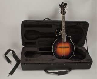 New F Style Mandolin High Quality All Solid Wood Completely Setup Hard