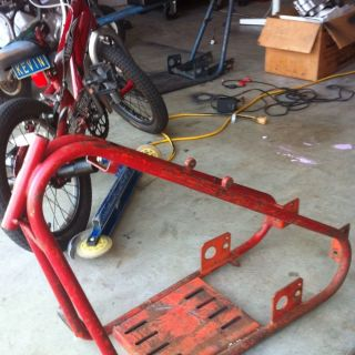 Bonanza Mini Bike Chopper Frame