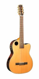 Boulder Creek ECGL 4 Gold Series Solid Cedar Top Classical Guitar