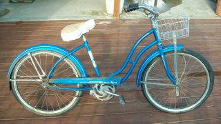 1958 Western Flyer Equipped Girls Bicycle Bike Model 2F 2521 24