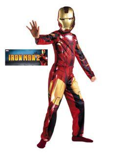 Boys Classic Iron Man Mark VI Costume Halloween Costumes