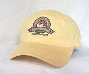 Bozeman Montana Fly Fishing Small Fit Cap Hat Imperial