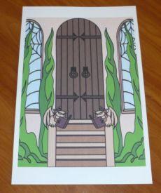 Monster High School Doll House Kit Gothic Backgrounds