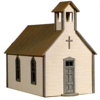 Laserkit Crossroads Church s Scale Kit 91 Very Nice