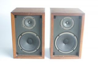 dlk 1/2 Two Way Vintage Stereo Bookshelf Speakers
