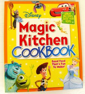 Disney Kids Cook Book Healthy Recipes Fun to Make 0696237326