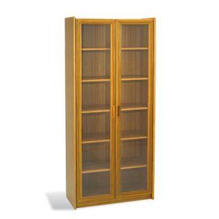 he Ergo Office Mid Cenury Danish Bookcase wih Glass Doors