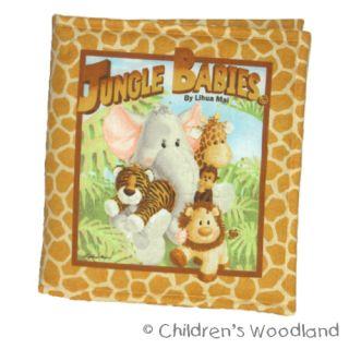 Jungle Babies Cloth Soft Book Animals Kids Baby Lion