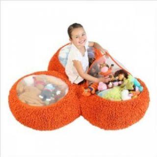 Boon Animal Bag Trio Elite Trio Toy Chest Plush Storage Orange Bag